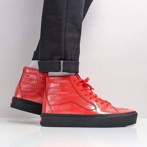 Vans Shoes - Vans X David Bowie SK8-Hi Platform Ziggy Stardust